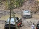 [Big Chevy Truck Gets Stuck in the MUD and then Crashes!] Video