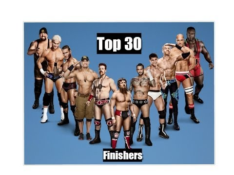 Top 25 Wwe Finishers 2014 video