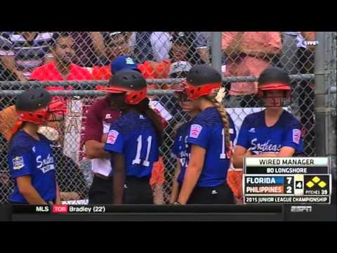 2015 Junior Softball World Series: Southeast vs Asia-Pacific