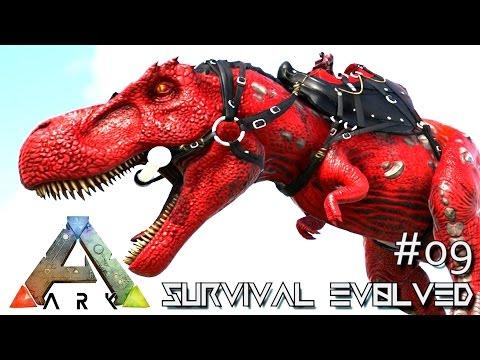 ARK: SURVIVAL EVOLVED - NEW ALPHA TREX TAMING !!! E09 (MODDED ARK ANNUNAKI EXTINCTION Core)