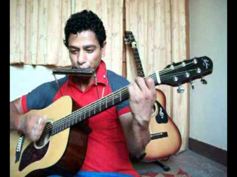 Instrumental Cover (guitar & Harmonica) Of Tere Bina Mein video