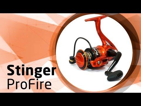 безынерционная катушка stinger powerage