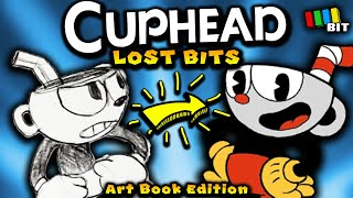 Cuphead LOST BITS (Art Book Edition) | Unused Concepts + More! [TetraBitGaming]