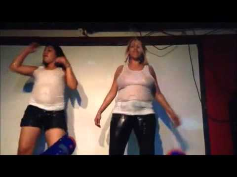 Wet T-shirt Contest Every Friday At La Kumbia video