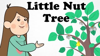 🌲 I had a Little Nut Tree | Cartoon Nursery Rhymes Songs For Kids 🌲