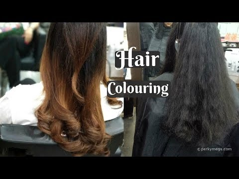 My Hair Colour Trasformation Experience | Pro & Cons of Hair colouring