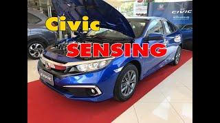 Civic 2019 SENSING Turbo RS ราคา 1219000 บาท 1.8 El ราคา 964000 บาท