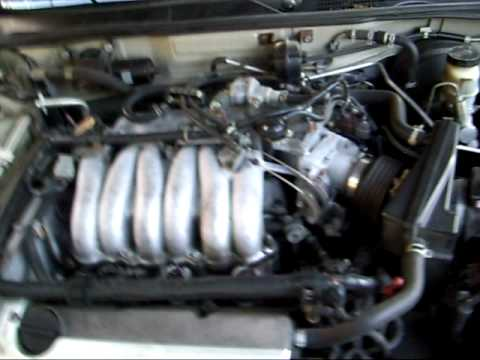 1996 Nissan Maxima Gxe Obdii Misfire Code P1320 And P0305 Part 1 Youtube
