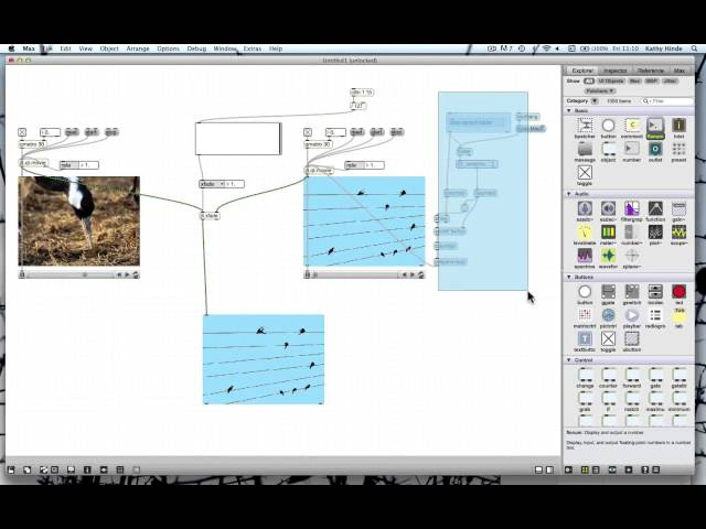 Simple Video mixer in MaxMSP Jitter