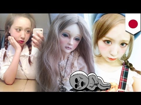 Sick face makeup: New, sickly fad spreads among Japanese girls