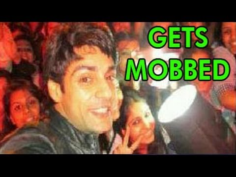 Watch NACH BALIYE 5 HOST Karan Wahi GETS MOBBED - DON'T MISS !!!