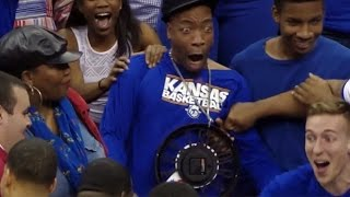 Download Kansas' Wayne Selden's Dunk Gets His Uncle HYPED | CampusInsiders 3Gp Mp4