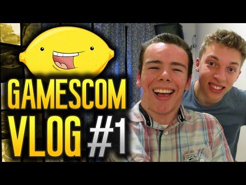 GamesCom 2014: Vlog! - Day #1 -