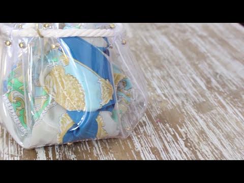 DIY- Crea un bolso transparente tipo saco (FÁCIL)  | Fashion Riot