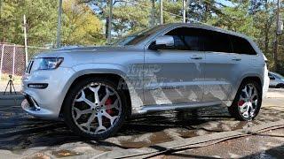 WhipAddict: 13' Jeep Grand Cherokee SRT8 & 14' Chevrolet Corvette on Forgiatos, @FastAndFriendlyATL