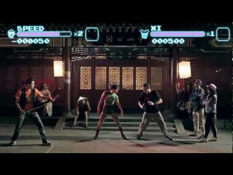 Un video musical al estilo Street Fighter
