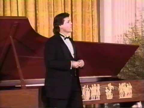 Thomas Hampson at the Clinton White House
