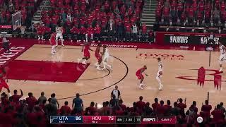 Utah Jazz vs Houston Rockets - Game 5   2019 NBA Playoffs