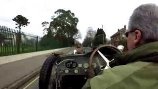 Bugatti Type 37A (1927) Grand Prix Racing Car GoPro Test Drive HD