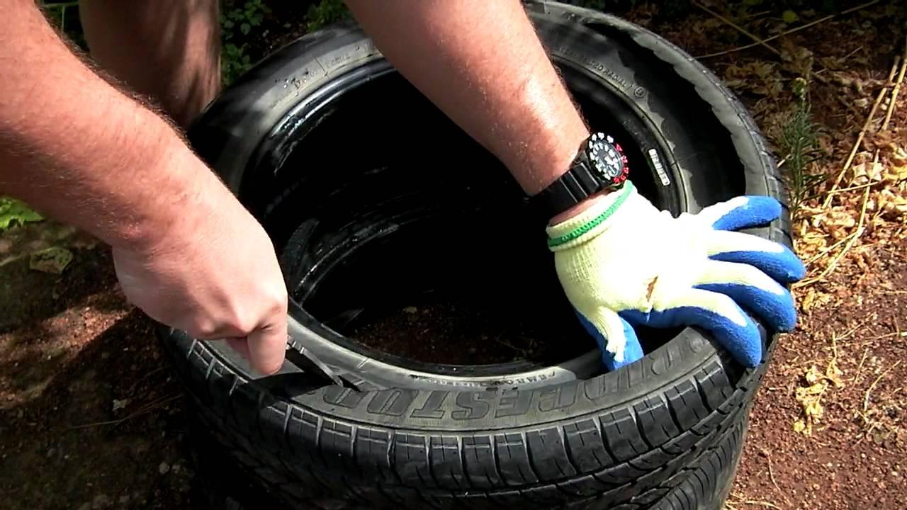 Чем разрезать шину для поделок 86