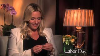 LABOR DAY interview with Kate Winslet - Titanic stub moment with Leonardo DiCaprio