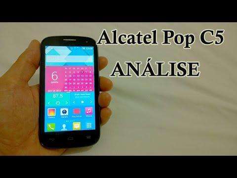Alcatel Pop C5 - Análise do Aparelho (Review Brasil)