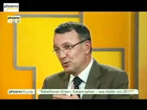 Rebellionen, Krisen, Katastrophen | Was bleibt von 2011? (Phoenix Runde 15.12.2011)