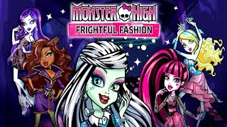 Monster High Frightful Fashion ♡ Gameplay part II Amazing Game For Kids