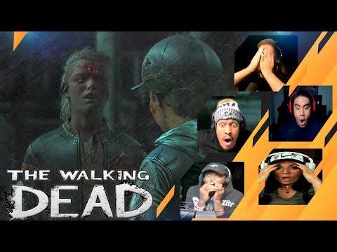 Gamers Reactions to (SPOILER!!!) AJ shooting Marlon (Ending) | The Walking Dead: The Final Season