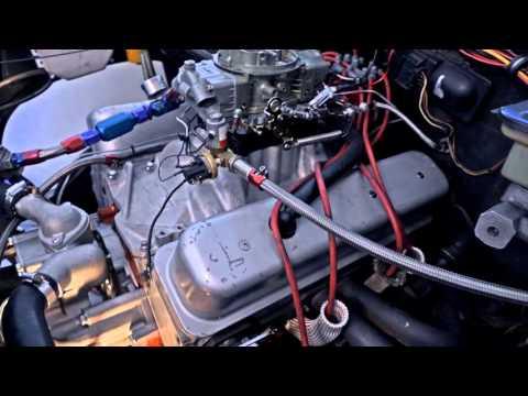 V8 S10 cammed LT1 Carb setup