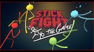 Stick Fight Funny Moments - Snakes & Lag (with Kugo, Sp00n & Soup)