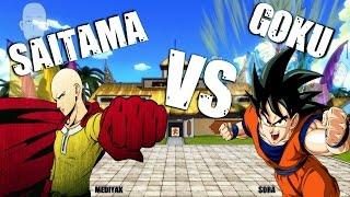 SAITAMA VS GOKU // Mediyak Ft Sora   BATALLAS DE RAP   RAP DE ANIME