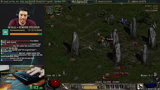 Diablo 2 - SUMMON DRUID SPEEDRUN - BIRTHDAY - WHYYYYYYYYY