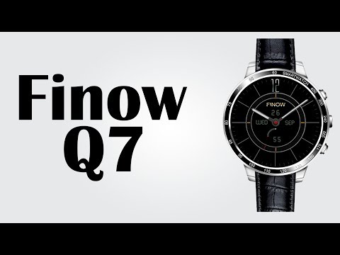 "Finow Q7 Smartwatch  - 1.3"" / Android 5.1 /  512MB RAM + 4GB ROM / Heart Rate Monitor / Pedometer"