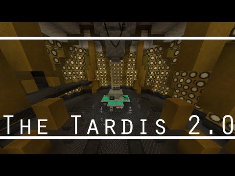 Fully Working Minecraft Tardis 2.0