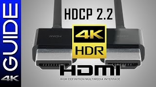 Everything You Need To Know About 4K HDR, HDCP, Blu-Ray, and HDMI Overview