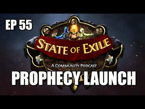 State of Exile Ep:55 PROPHECY Meta Discussion & Uniques Review - ft. ItsYoji & AngryAA