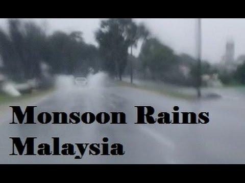Monsoon Rains = Flooded Roads = Detours