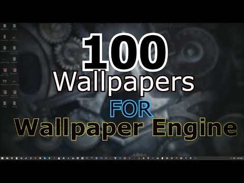 TOP 100 /WALLPAPER ENGINE WALLPAPERS/BEST//ANIME/STEAM/L