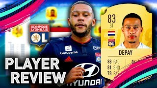 FIFA 19 MEMPHIS DEPAY PLAYER REVIEW | 83 DEPAY | FIFA 19 ULTIMATE TEAM