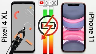 Google Pixel 4 XL vs. iPhone 11 Battery Test