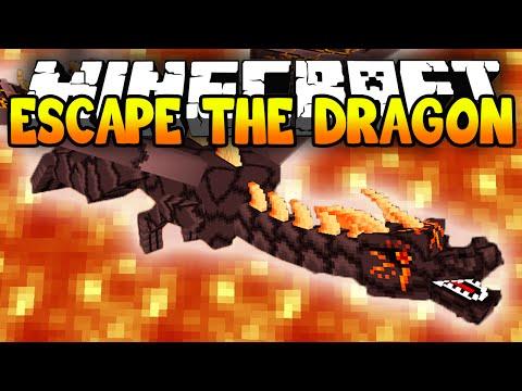 Minecraft Escape The Dragon Minecraft Runner Parkour w Lachlan Preston
