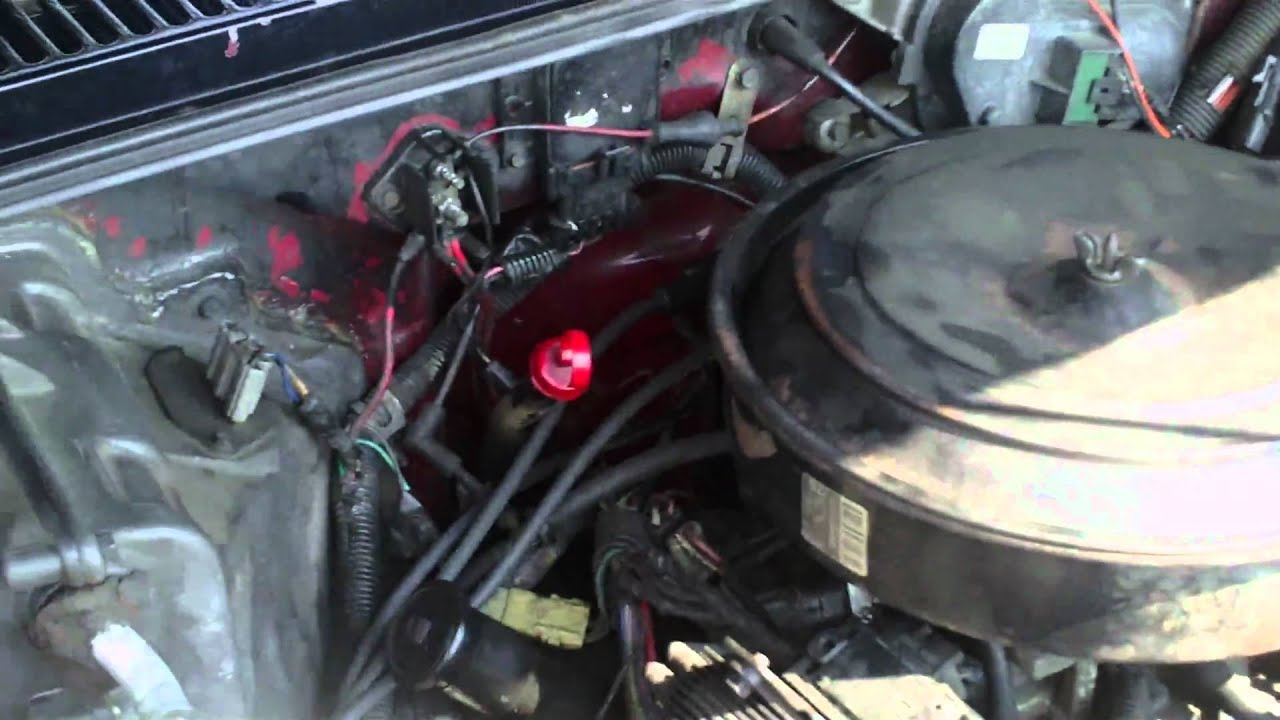 91 chevy 350 engine tbi  91  free engine image for user