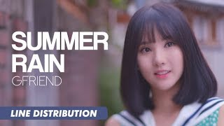download lagu Gfriend 여자친구 - Summer Rain 여름비  Line Distribution gratis