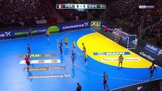 Mondial 2017 M7 1/4 - France 33-30 Suède [2017-01-24]