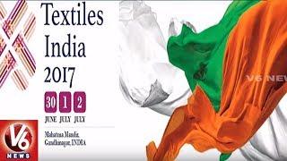 Minister KTR Gujarat Tour To Attend Textiles India 2017 Fair |