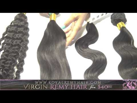 Royal Remy Hair Company -- Virgin Brazilian Showcase
