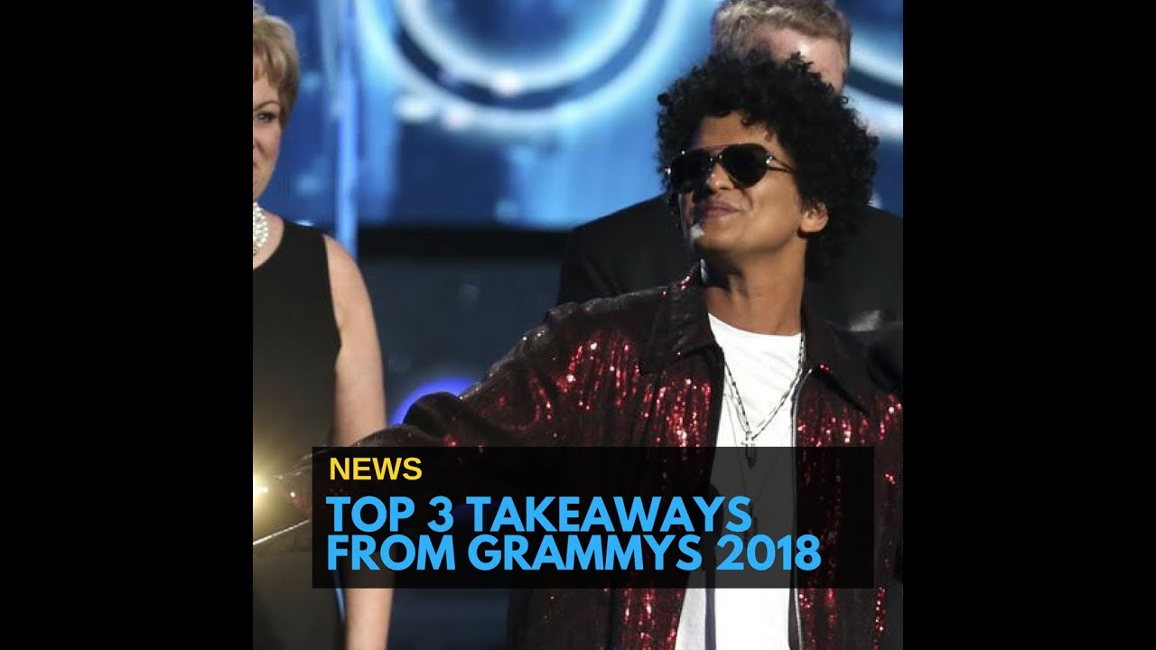 From Bruno Mars to #metoo, here are the top 3 takeaways from Grammys 2018