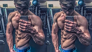 16 YO Physique Update | The REAL Reason I Dropped out of High School (Public HS)