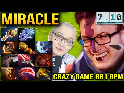 DOTA 7.10 MIRACLE ANTI MAGE IS CRAZY 10 Slotted vs Matumbaman Pugna